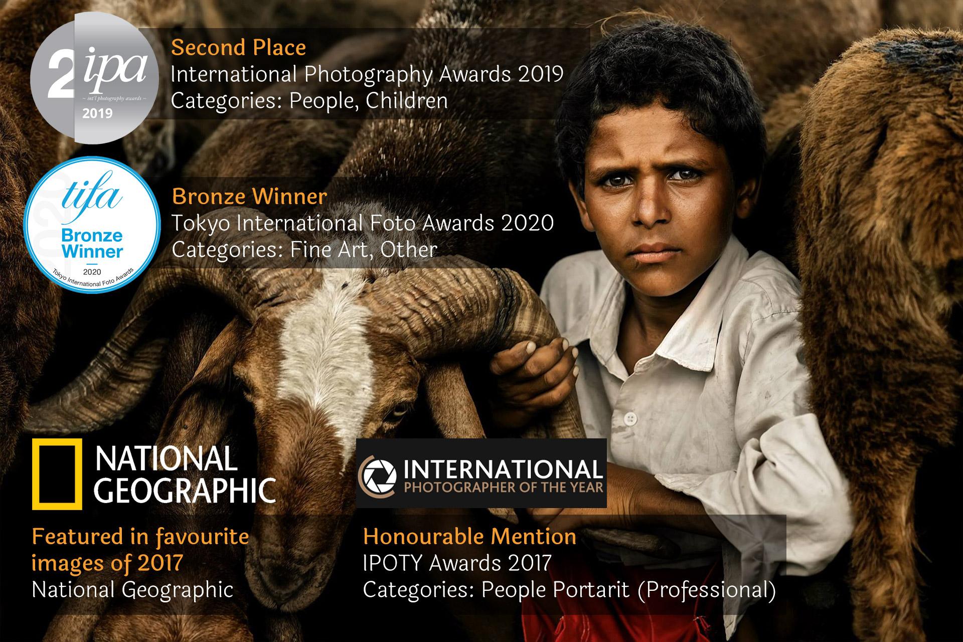 A little boy from Hampi by Arjun Kamath